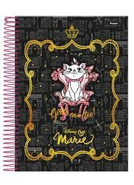 Caderno Foroni 10X1 Marie Girls Can Too 200 folhas