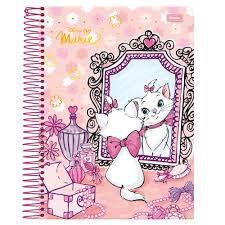 Caderno Foroni 10X1 Marie no Espelho 200 folhas