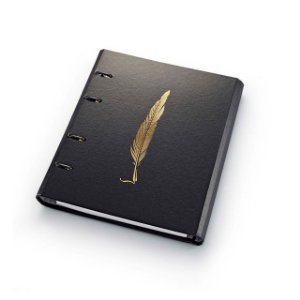 Caderno Fichário Ótima Ultra Noir Pena