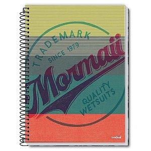 Caderno Credeal 10X1 Mormaii Trademark Quality 200 folhas