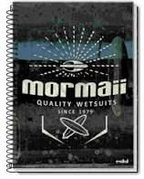 Caderno Credeal 10X1 Mormaii Quality Wetsuits 200 folhas