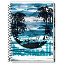 Caderno Credeal 10X1 Mormaii Viajantes do Tempo 200 folhas