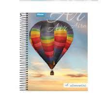 Caderno Foroni 10X1 4 Elementos Balão 200 folhas