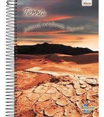 Caderno Foroni 10X1 4 Elementos Terra, Estável 200 folhas