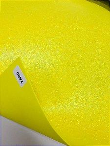 Eva Glitter Amarelo Furta-Cor VMP 40X60cm