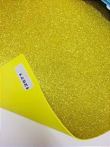 Eva Glitter Amarelo Ouro VMP 40X60cm