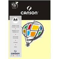 Papel A4 180G Canson Marfim 10 folhas