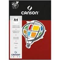 Papel A4 180G Canson Granate 10 folhas