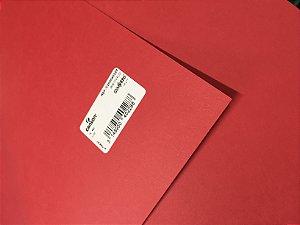 Papel Vivaldi 180G Vermelho Escuro 50X65cm