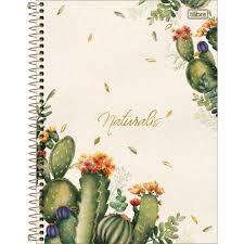 Caderno Tilibra 10X1 Naturalis Cactos 160 folhas