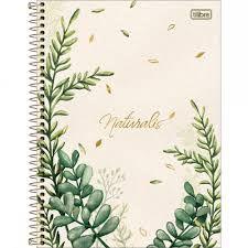 Caderno Tilibra 10X1 Naturalis 160 folhas