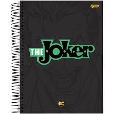 Caderno Jandaia 10X1 Dc Comics The Joker 200 folhas