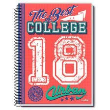 Caderno Credeal 10X1 Urban The Best Of College 200 folhas