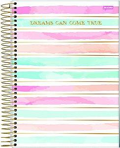 Caderno Jandaia 15X1 Petit de La Creme Dreams Can 240 folhas