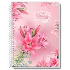 Caderno Credeal 12X1 Pétalas 240 folhas