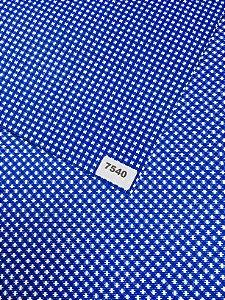 Papel Dupla Face Azul Escuro/Xadrez VMP 48X66cm