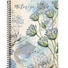 Caderno Foroni 10X1 Natureza Peixe 200 folhas
