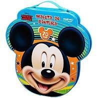 Maleta de Pintura Molin Face Mickey 70 itens