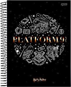 Caderno Jandaia 1X1 Harry Potter Plataforma 96 folhas