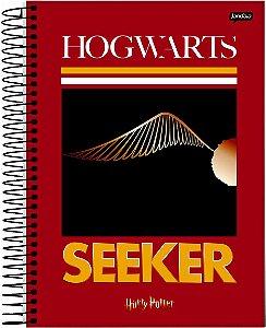 Caderno Jandaia 1X1 Harry Potter Pomo de Ouro 96 folhas