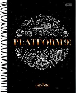 Caderno Jandaia 10X1 Harry Potter Plataforma 200 folhas