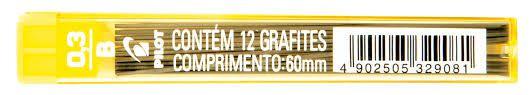 Grafite Pilot 0.3mm B com 12 unidades