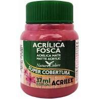Tinta Acrílica Fosca Acrilex Rosa Ciclame 37Ml
