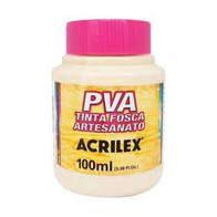 Tinta Pva Acrilex Fosca Areia 100Ml