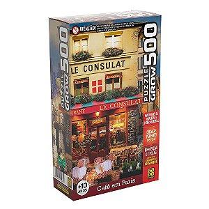 Puzzle Café em Paris Grow 500 peças