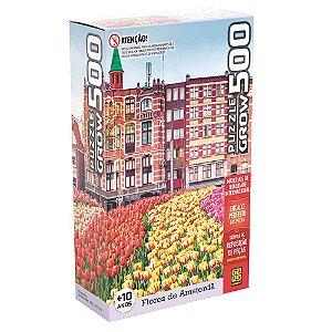 Puzzle Flores em Amsterdã Grow 500 peças