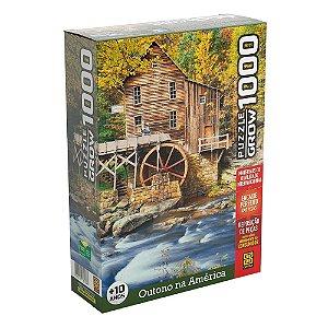 Puzzle Outono na América Grow 1000 peças