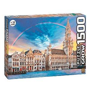 Puzzle Bruxelas Grow 1500 peças