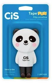 Fita Corretiva Cis Tape Fun Panda 5mmx6M