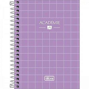 Caderneta Tilibra Acadêmie Lilás 80 folhas