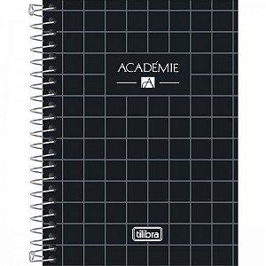 Caderneta Tilibra Acadêmie Preto 80 folhas