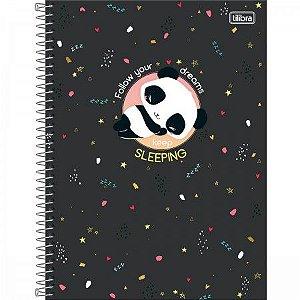 Caderno Tilibra 1X1 Lovely Follow your dreams 80 folhas