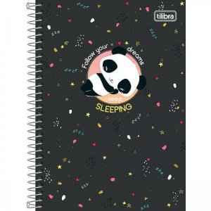 Caderno Tilibra 1/4 Lovely Follow your dreams 80 folhas