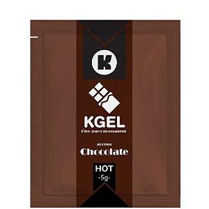 Gel Comestível Chocolate Hot Sachê 5G  - Kgel
