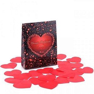 Pétalas Coração Perfumado 150 Unidades - Kgel