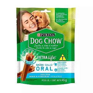 DOG CHOW ORAL EXTRA LIFE CÃES ADULTOS PEQUENOS 45G