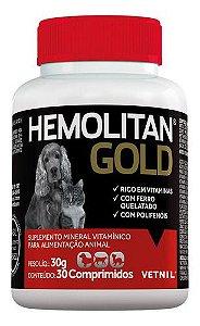 HEMOLITAN GOLD 30 COMPRIMIDO