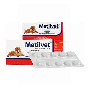 METILVET 20 MG - CARTELA