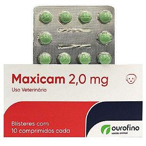 MAXICAM 2,0MG CARTELA