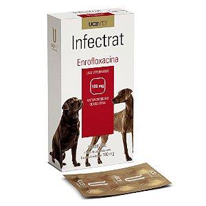INFECTRAT/ENROFLOXACINA 100MG 6COMP