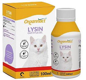 ORGANNACT LYSIN CAT EMULGEL 100 ml