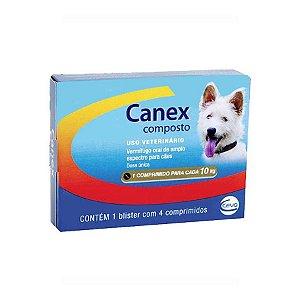 CANEX COMPOSTO BLISTER COM 4 COMPRIMIDOS