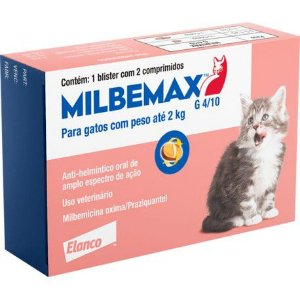 MILBEMAX GATOS 4/10MG ATE 2 KG - 2 COMP