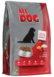 ALL DOG ADULTOS CARNE E CEREAIS 25KG