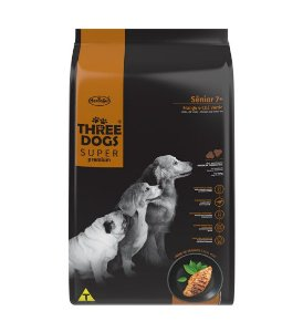 THREE DOGS SUPER PREMIUM SENIOR 3KG