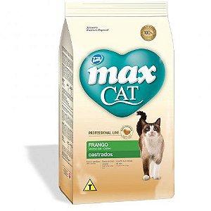 MAX CAT ADULTO LINE CASTRADOS FRANGO 3KG
